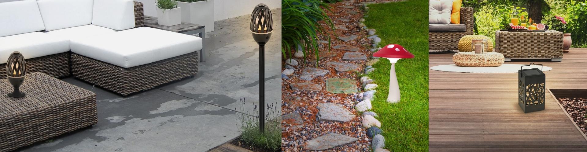 Āra dekoratīvās lampas